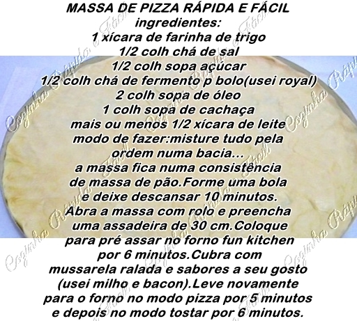 Pizza-caseira