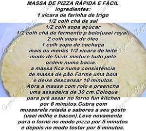 pizza-caseira