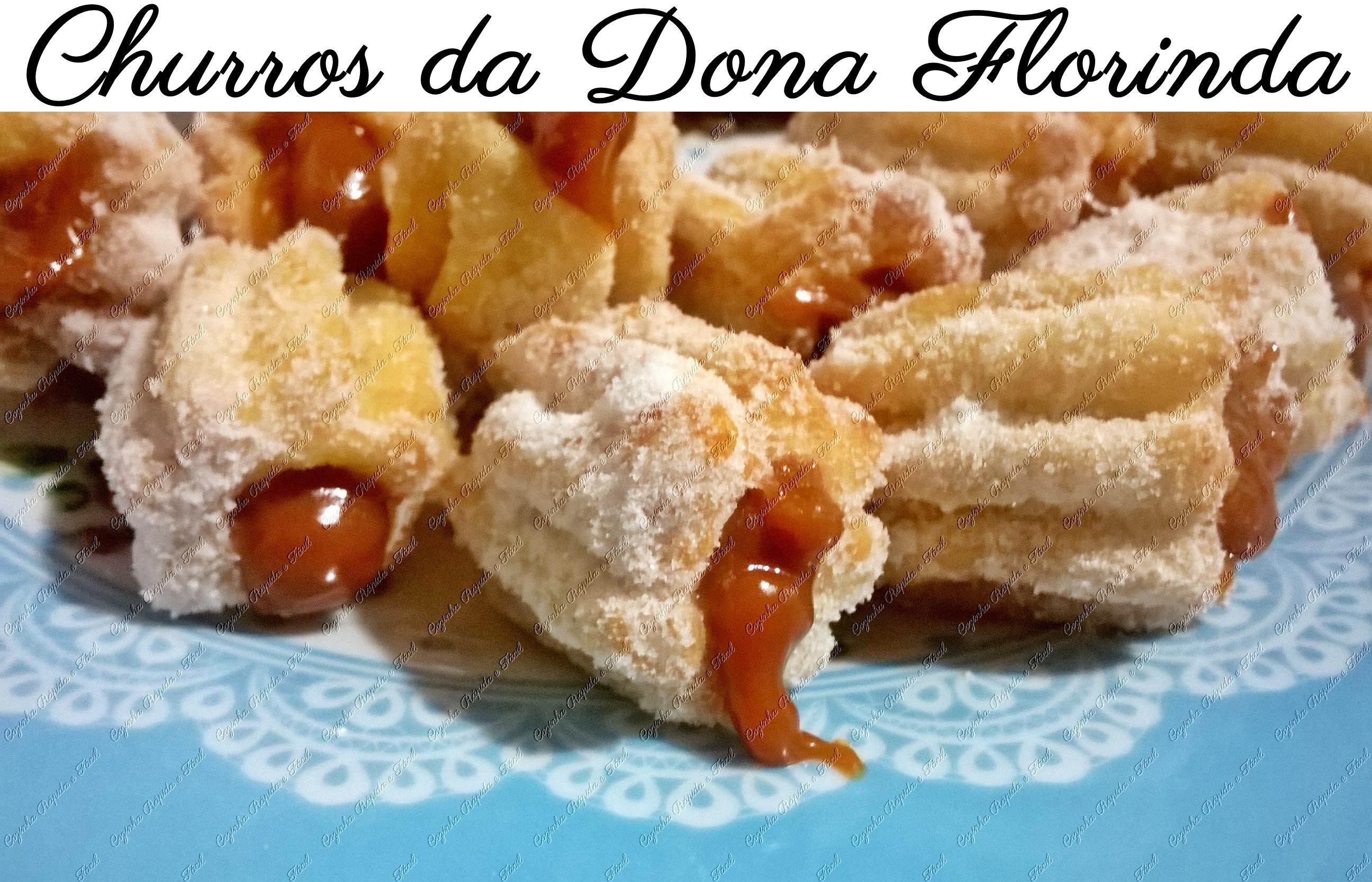 Como Fazer Churros Da Dona Florinda Cozinha Rápida Fácil