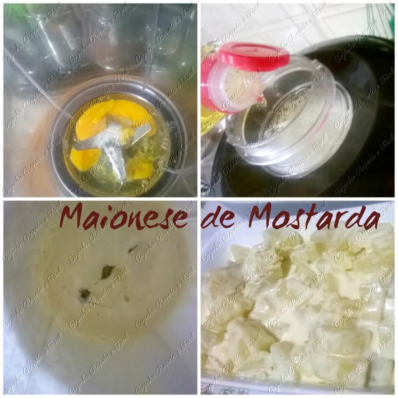 maionese de mostarda