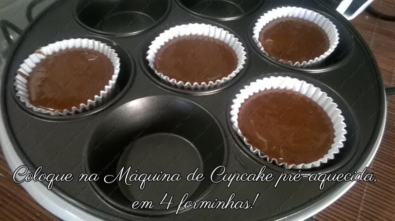 máquina de cupcakes