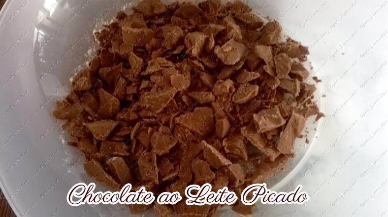 chocolate ao leite picado
