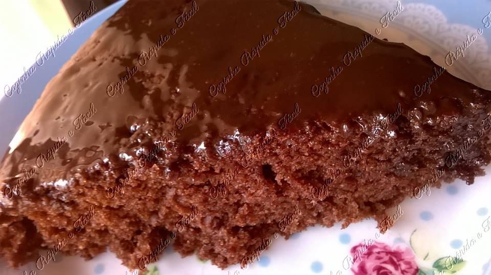 bolo de chocolate maravilhoso