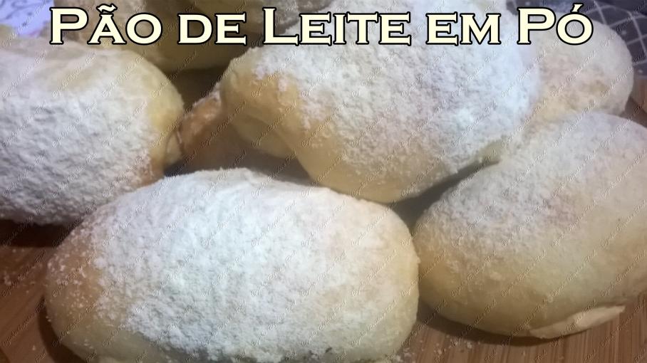 pão de leite em pó