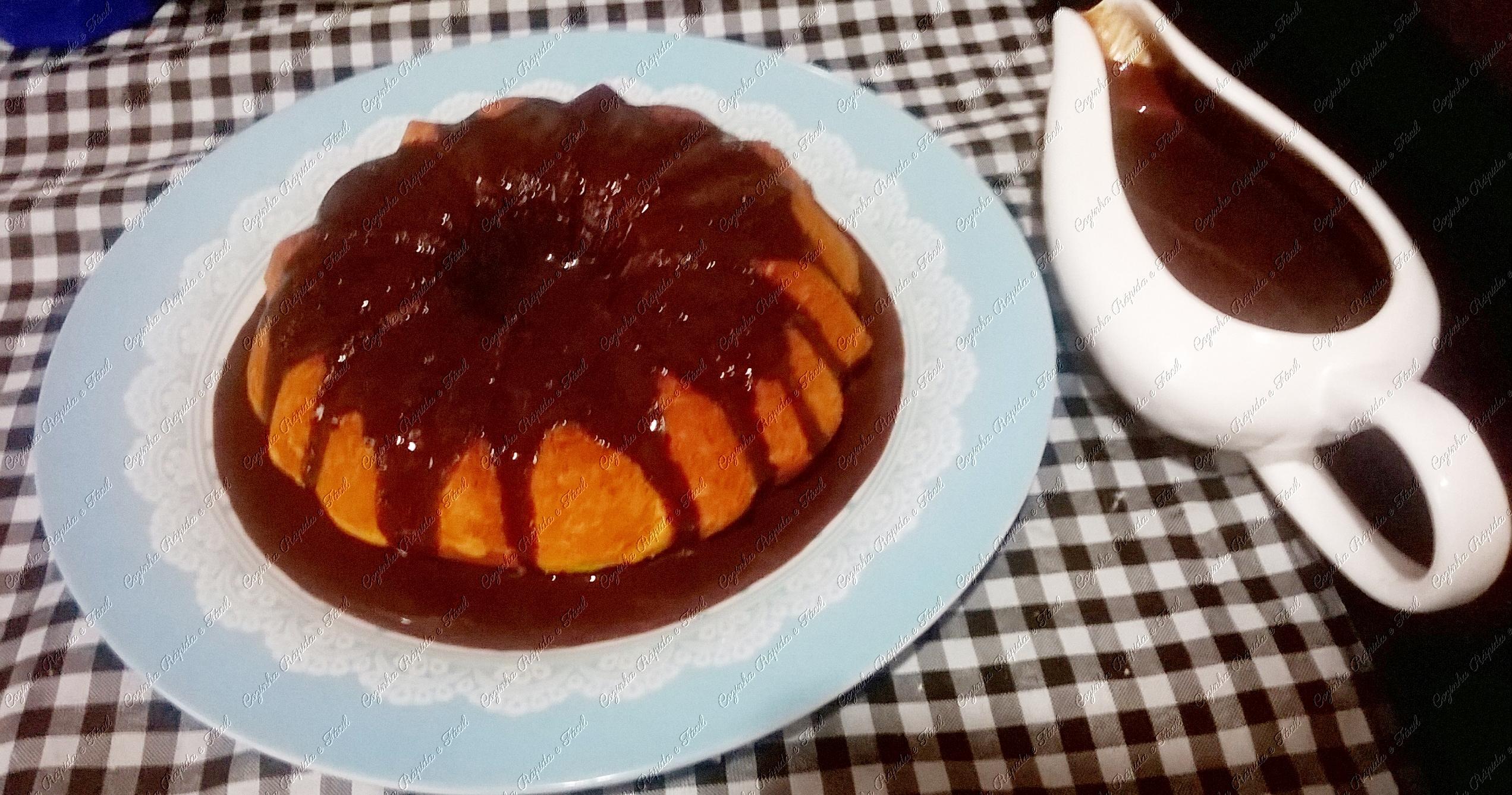 bolo de cenoura na cake maker