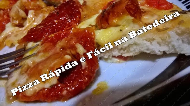 pizza de batedeira