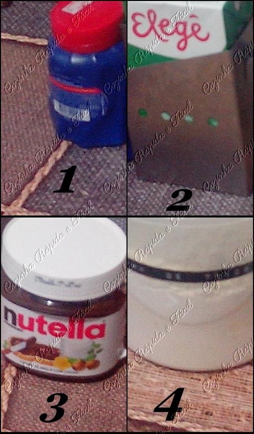 bolinho de nutella